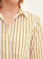 DeFacto Uzun Kollu Gömlek Tunik Haki